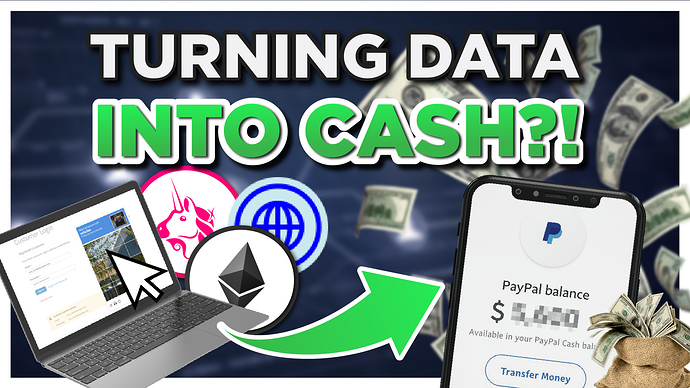 data to cash 1