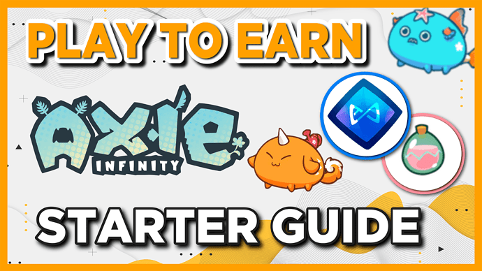 play to earn starter guide