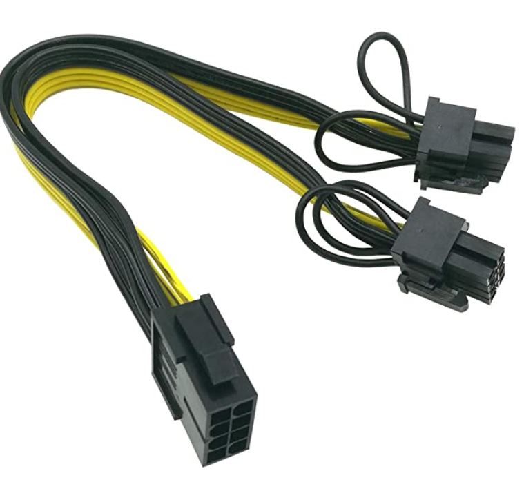 CPU to Pcie 8  pin adapter