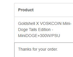 Mini Doge Success